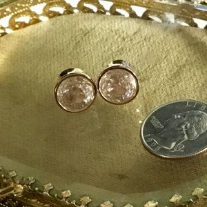 Michael Kors Rose Gold Studs